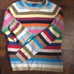 Gap ORIGINAL Crazy Stripes sweater - VEUC
